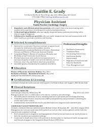 physician assistant resume template using essay sles to your own advantage academic tips physician