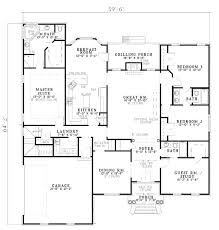 Floor Plans For Big Houses Best 25 One Level House Plans Ideas On Pinterest One Level