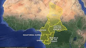 Gabon Map Central Africa Regional Bloc Creates Six Country Visa Free Zone