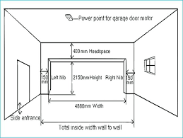 Overhead Door Clearance Found This Overhead Door Sizes Is Here And Height Clearance Size