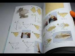 Book Paper Folding - real flying creatures origami paper folding book bird insect