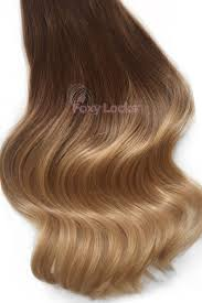 human hair extensions uk honey spice ombre regular seamless 18 clip in human hair