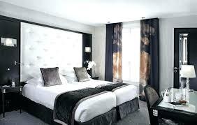 chambre à coucher blanc et noir chambre a coucher blanc chambre coucher blanc deco a chambre a