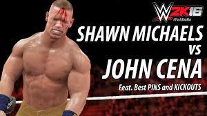 wwe 2k16 ps4 british bulldog vs x pac vs rikishi full match wwe 2k16 best pins and kickouts match shawn michaels vs john