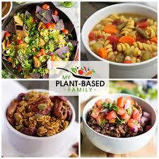 my plant based family feeding my family a whole food plant