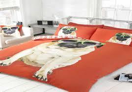 Dog Duvet Covers Pug Dog Puppy Cute Quilt Duvet Cover Bedding Bedset Pillowcase 3