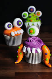 halloween tutorial d i y monster cupcakes juniper cakery