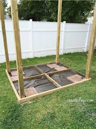 diy outdoor playset created by v