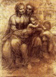 Leonardo Da Vinci Drapery Da Vinci And Drawing Weiner Elementary