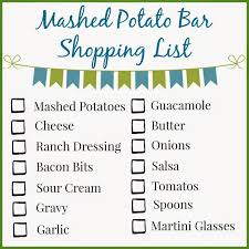 Mashtini Bar Toppings Best 25 Mashed Potato Bar Ideas On Pinterest Martini Bar