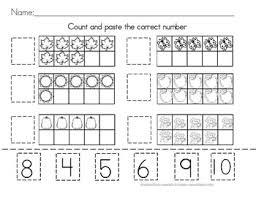 counting worksheet tens frame by debbie hewitt tpt