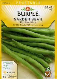 amazon com burpee 68096 bean bush snap kitchen king seed packet