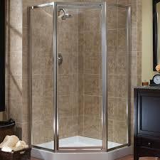 hazelwood home 0 37 x 70 neo angle shower enclosure