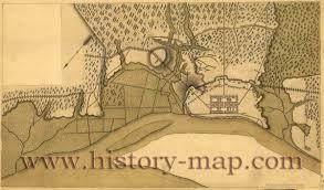 Savannah Ga Map Siege Of Savannah Georgia