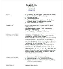 resume outline exle pdf resume templates free resume templates 7 graphic design