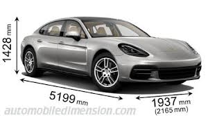 porsche macan length dimensions of porsche cars showing length width and height