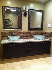 bathroom backsplash ideas and pictures best 25 rock backsplash ideas on backsplash