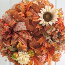 best fall mesh wreath products on wanelo