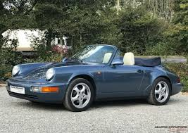 porsche 964 cabriolet for sale used 1990 porsche 911 964 carra 4 cb for sale in devon pistonheads