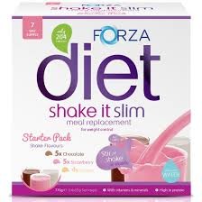 shake it slim starter pack meal replacement shakes from forza