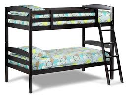 leons furniture kitchener starship bunk bed set chocolate cherry leon u0027s