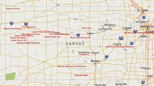 Kansas natural attractions images Maps update 800460 kansas tourist attractions map kansas JPG
