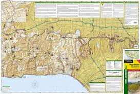 Santa Monica Zip Code Map Santa Monica Mountains National Recreation Area National