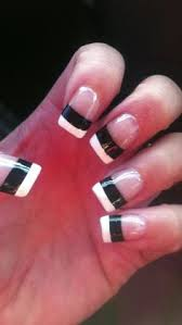 zebra nails for heather super cute nails that are cute