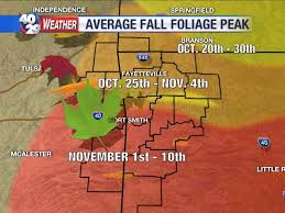 weekly fall foliage update 40 29 tv weather blog