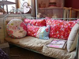 transformer lit en canap lit en fer forgé transformé en canapé