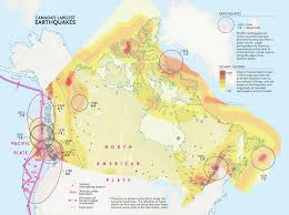 Washington State Earthquake Map by Mapping Canada U0027s Biggest Earthquakes Canadian Geographic