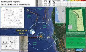 Usgs Earthquake Map California Earthquake Report 2016 Summary Cascadia Jay Patton Online