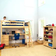 bunk beds bunk bed with crib on bottom beds full size desk
