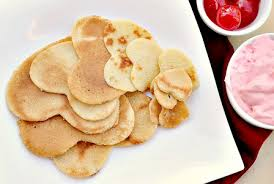 heart shaped crackers heart shaped crepes recipe