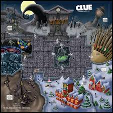 clue tim burtons the nightmare before board