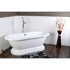 freestanding bathtub kingston brass