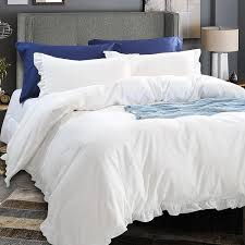 King Size Duvets Covers 3 Piece Linen Duvet Cover Set King Size Grey U2013 Ntbay