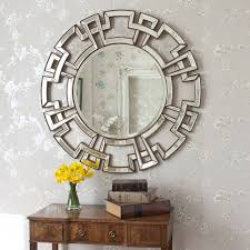 Decorative Mirrors For Living Room by Atticus Champagne Round Decorative Mirror Round Decorative