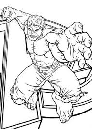 free coloring coloring avengers hulk coloring