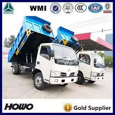 dongfeng diesel engine 5 ton mini light tipper dump truck for sale