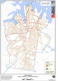 Urban Map Urban Heat Island Effect City Of Sydney