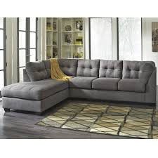 furniture modern reversible sectional sofa with ottoman for