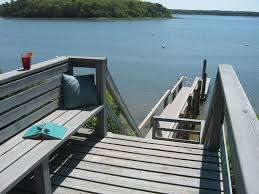cape cod waterfront vacation home dock homeaway mashpee neck