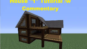 build house minecraft 360 how to build a spruce wood house house 1