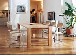 contemporary dining table wooden rectangular 868 by gabriele