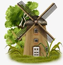 hand painted windmill house free of charge hand painted hand painted material texture