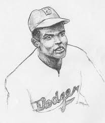 Breaking Barriers Jackie Robinson Bio Biography Jackie Robinson Coloring Page