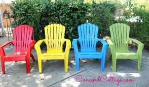 Paint For Outdoor Plastic Furniture by 30 Awesome Backyard Chair Ideas To Try Right Now Hometalk