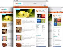 wordpress blog theme psd template psd file free download
