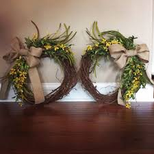 spring wreaths for front door best 25 double door wreaths ideas on pinterest entry doors with